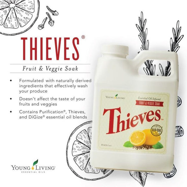 Thieves Fruit and Veggie Wash