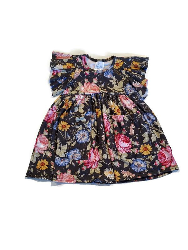 Bamboo Play Dress - Daisy