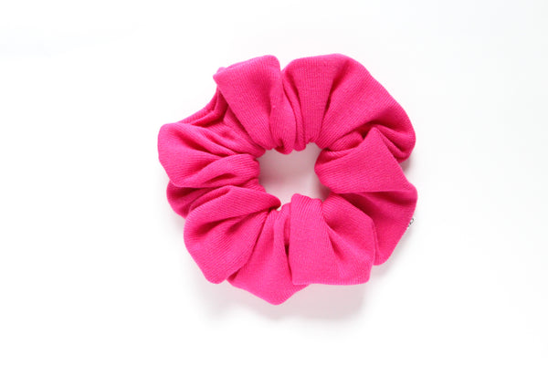 Hot Pink Scrunchies