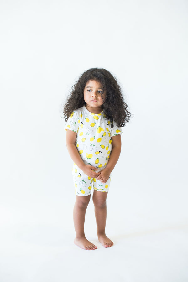 Shortie Set - Lemon