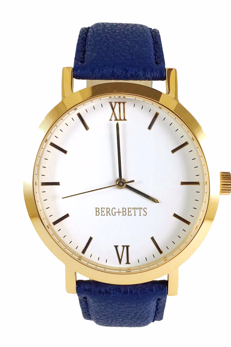 Gold & Navy Original Watch