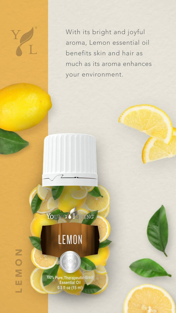 Lemon 15 ml essential oil