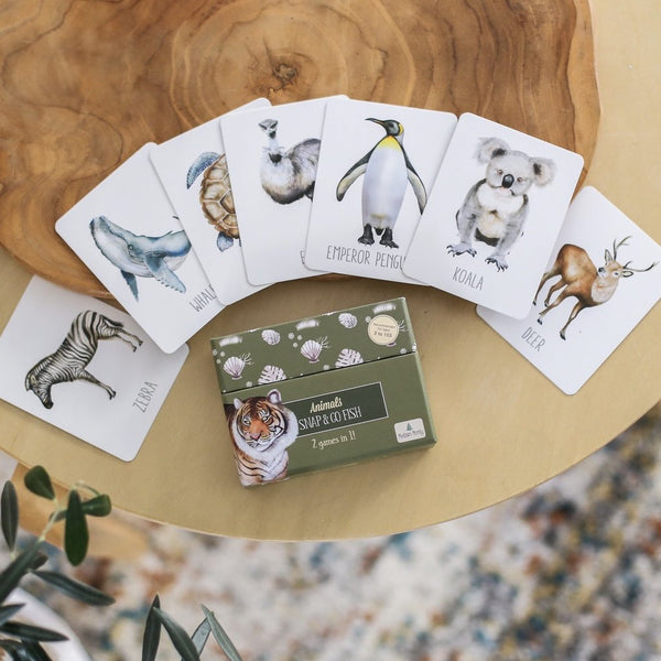 Animals Snap and Go Fish