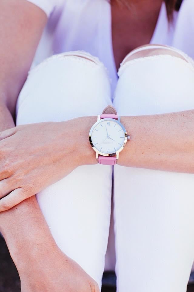 Bright Pink + Silver Original Watch