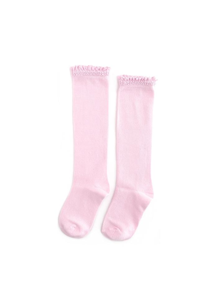Cotton Candy Lace Top Knee  Highs