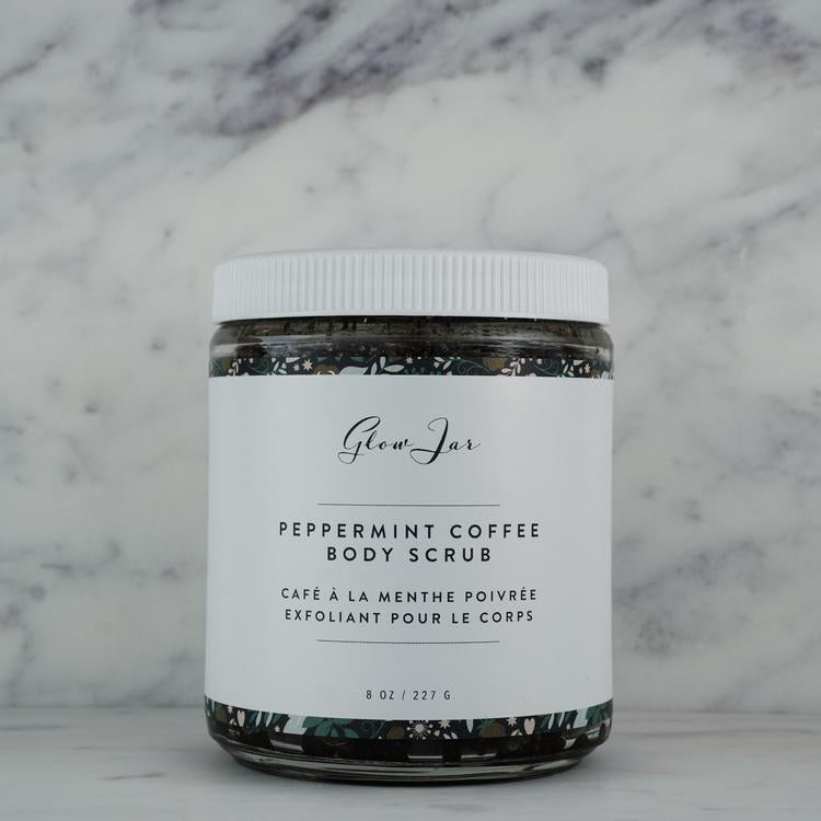 Peppermint Coffee Body Scrub