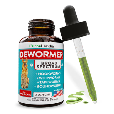 8-In-1 Broad Spectrum Dewormer For Dogs & Cats