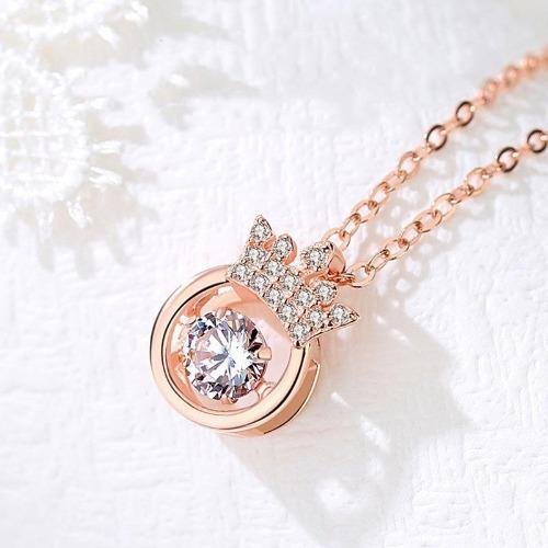 (Valentine's Day Hot Sale)Crown Sparkling Dance Necklace