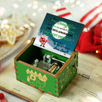 Dad To Daughter-Don't give up and don't give in--christmas music box 2020 commemorative