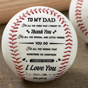 Son To Dad - I Need To Say I Love You - Baseball