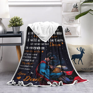 Black Friday limited time discount 50%-To my Daughter -Super Father-Blanket