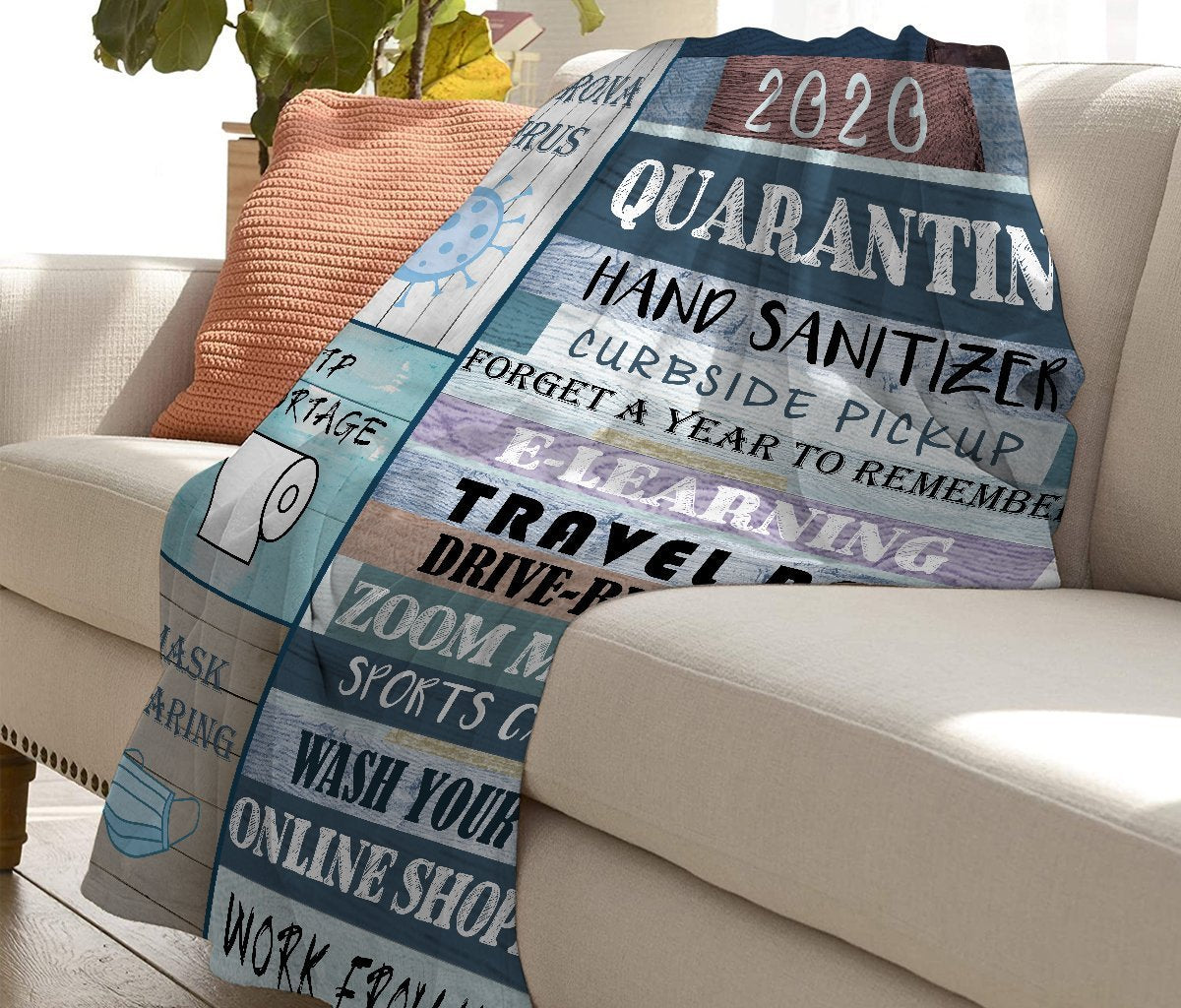 50% OFF Best Gift - 2020 Commemorative Blanket with the highlights of the worst year ever!