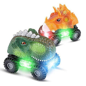 LED Dinosaur Car with Sound💥buy 2,free shipping,Save $ 9.8💥