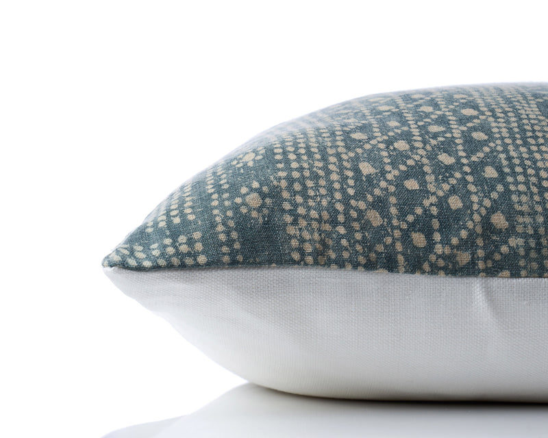 Andes Hand Dyed Linen Pillow by Shop Marissa Cramer