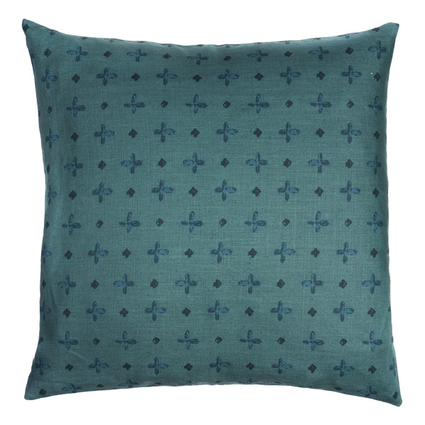 Bixby Hand Printed Linen Pillow by Shop Marissa Cramer