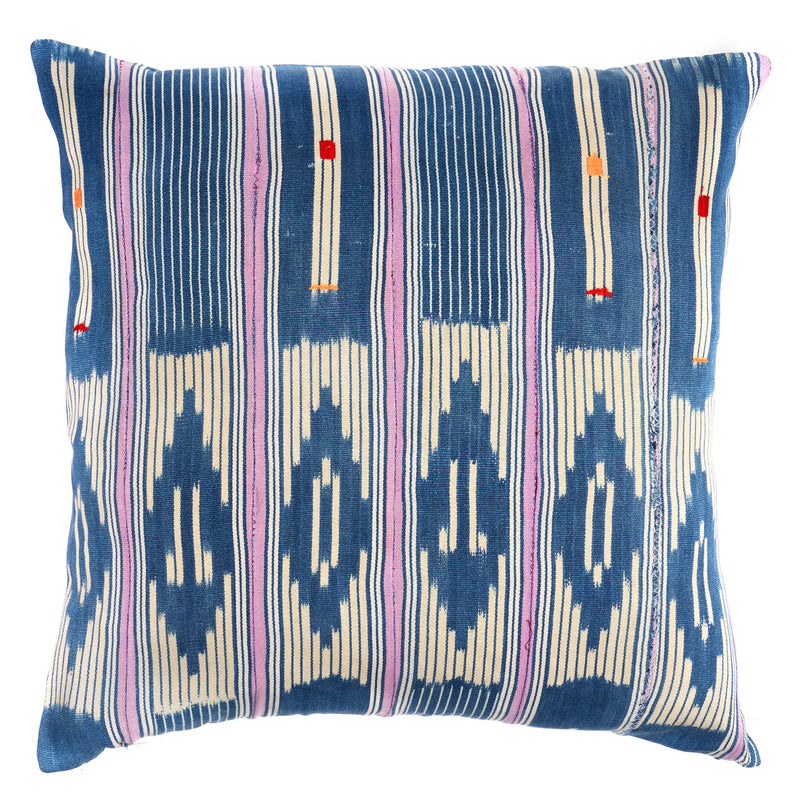 Baule Cloth No. 2 African Vintage Pillow by Shop Marissa Cramer