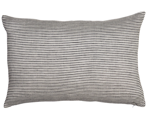 Ticking Stripe Pillow by Shop Marissa Cramer | Vintage, Linen, Cotton, Bohemian, Stripe Cushion