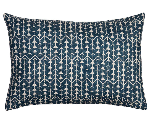 Benni Hand Printed Linen Pillow by Shop Marissa Cramer