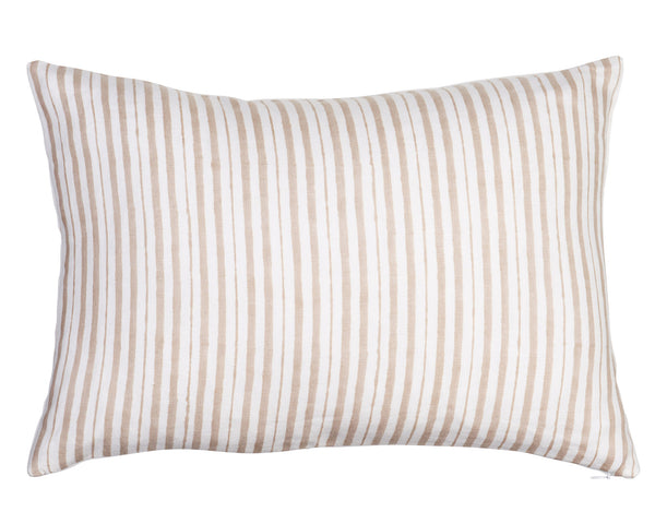 Jasper Stripe Pillow by Shop Marissa Cramer | Vintage, Designer, Cotton