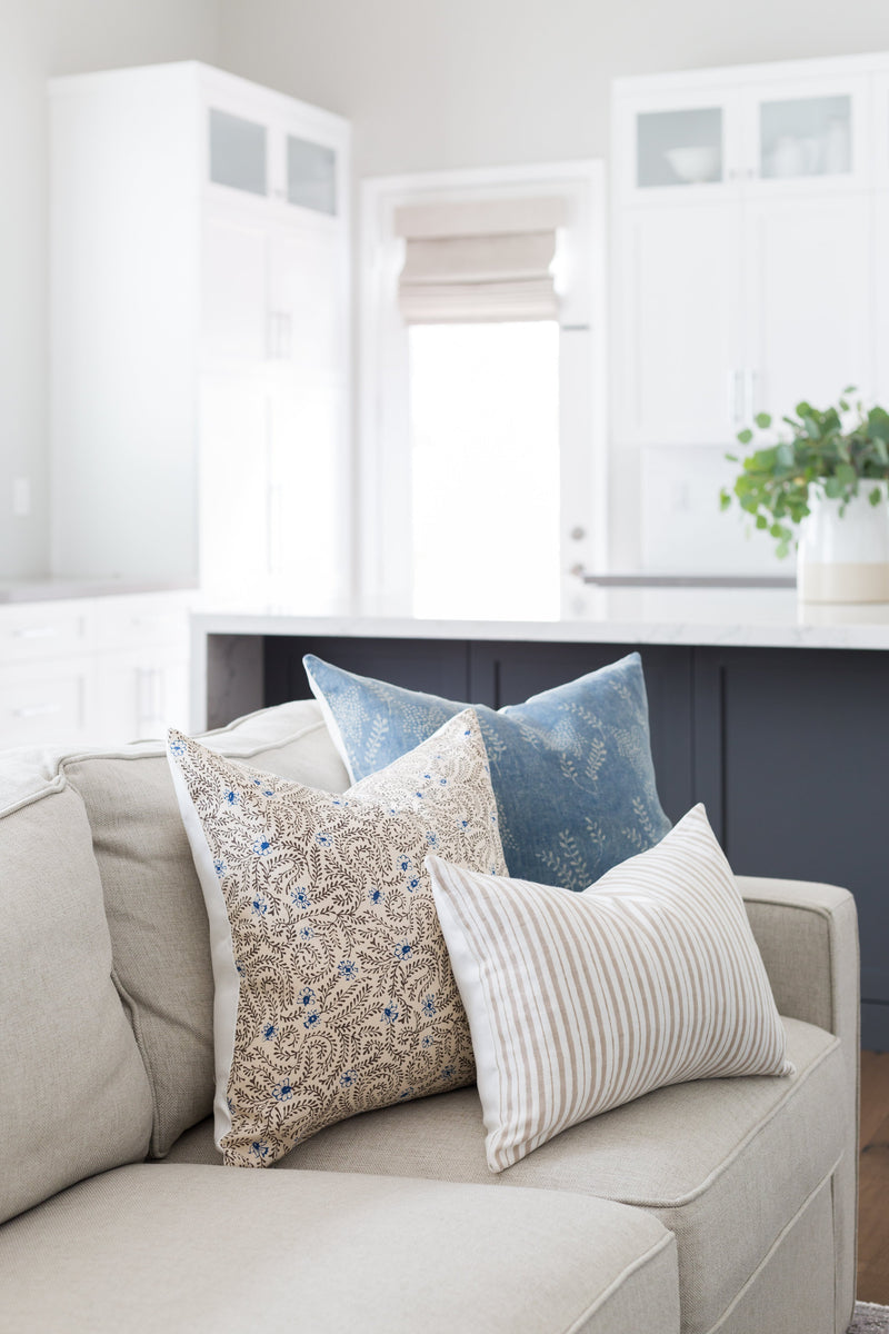 Iris Linen Pillow by Shop Marissa Cramer