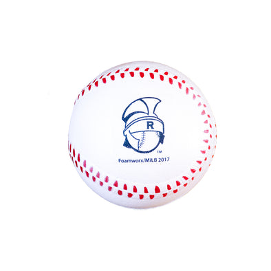 Rome Braves Foam Baseball