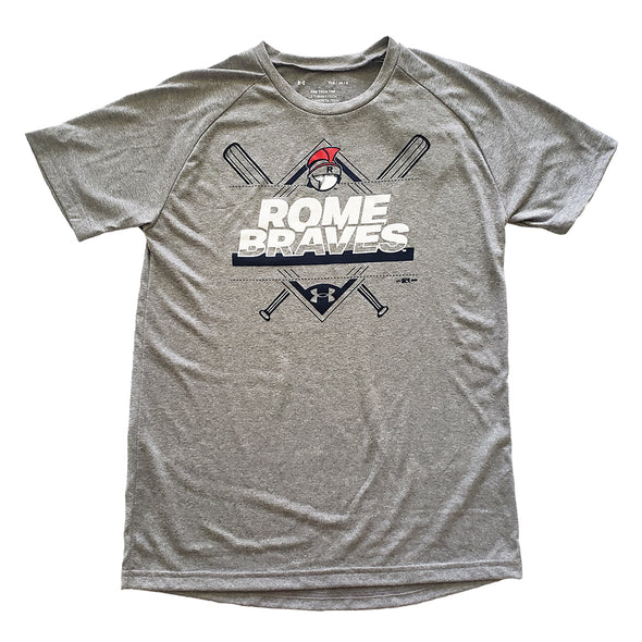 Youth Grey Under Armour Tee