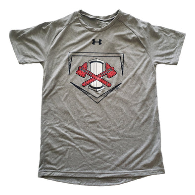 Youth Under Armour Home Plate Tee