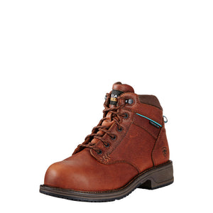 Ladies Ariat composite toe mid lace boot