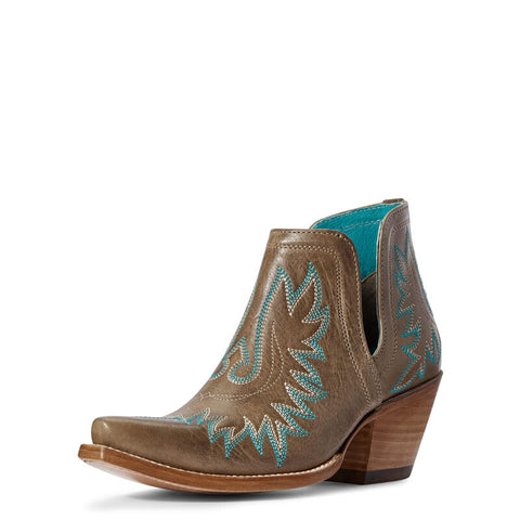 Womens Leather Bootie