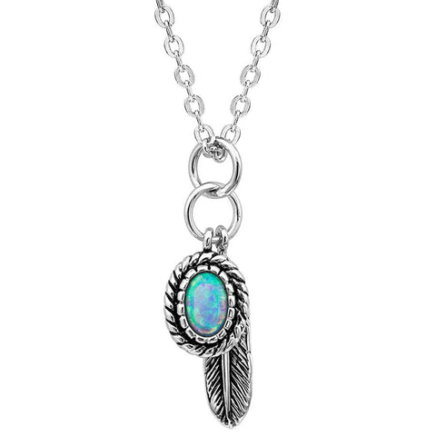 Montana Silversmiths Opal Necklace