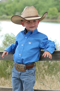 Boys Cinch long Sleeve button