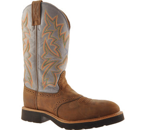 Mens  Steel Toe  Cowboy Work Boot