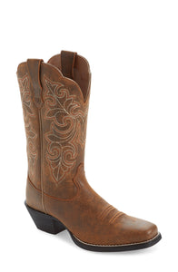 Womens Square Toe Boot