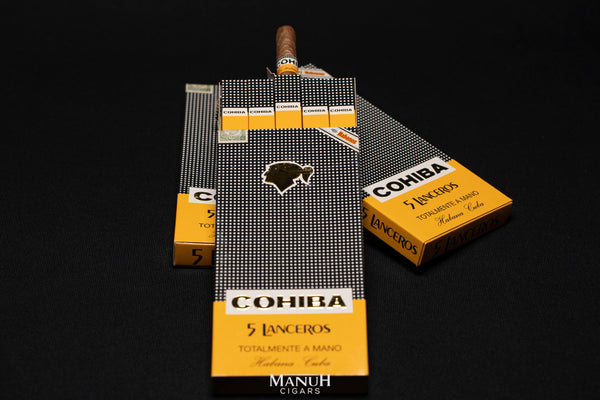 Cohiba Lanceros 2001 (card packs)