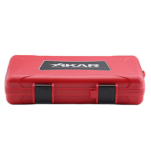 Xikar cigar case (5 cigars) - Red