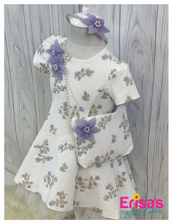 Julie Lavender Dress