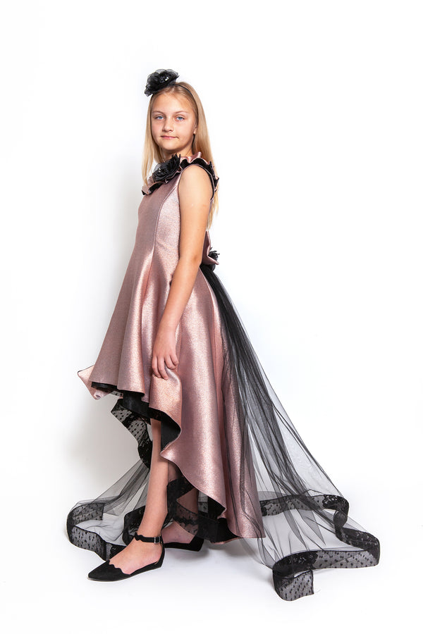 Sara Rose Gold Dress
