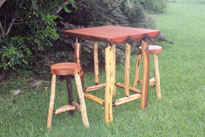 Bar Table Rose Gum