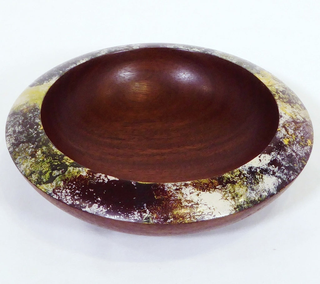 """Opal series"" Spotted Gum bowl"