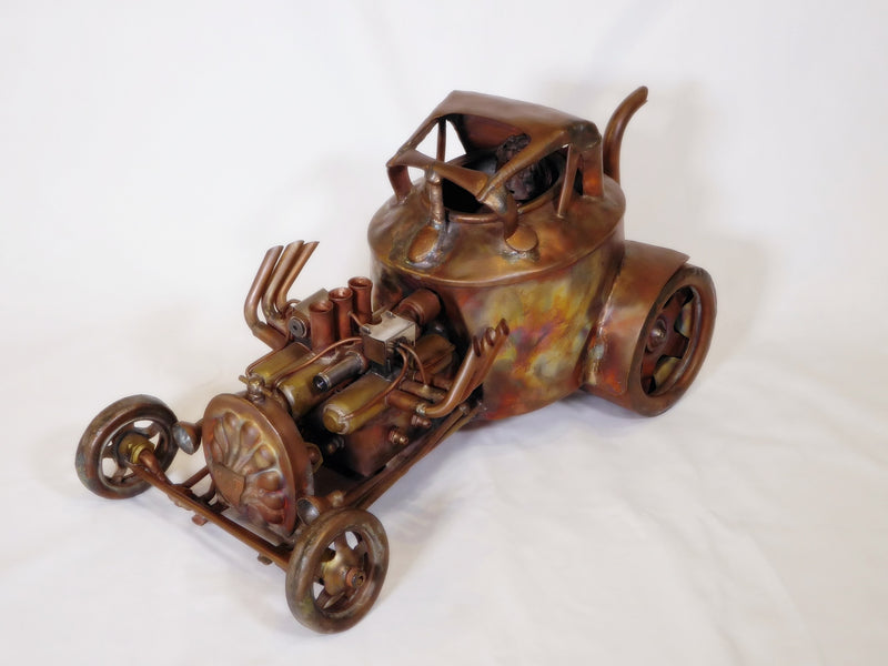 Rat Rod Copper sculpture