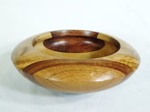 Bowl mixed laminated timbers.