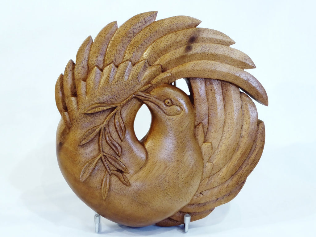 Carved Peace Dove