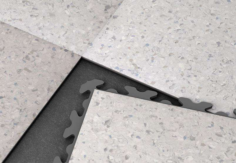 "DALLE PVC DECOR SURFACE ""GRANIT"" - PROMO-SOLS"