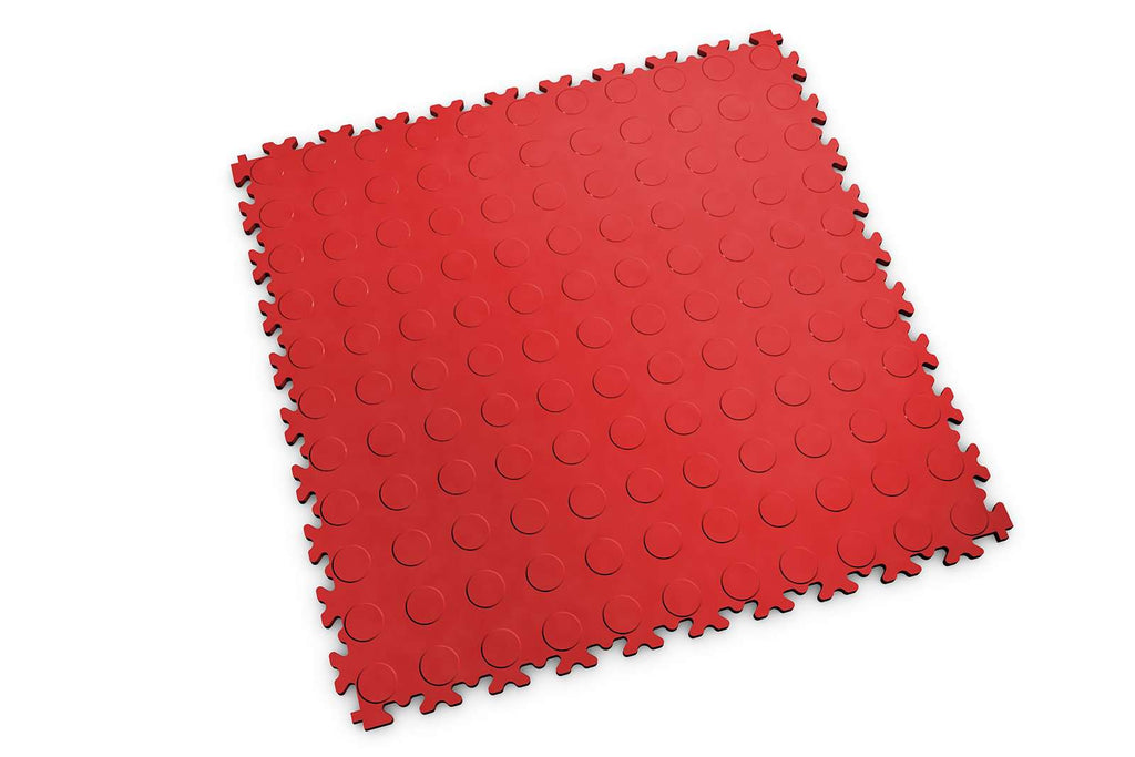 "DALLE PVC ""INDUSTRY"" BULLE ROUGE - PROMO-SOLS"