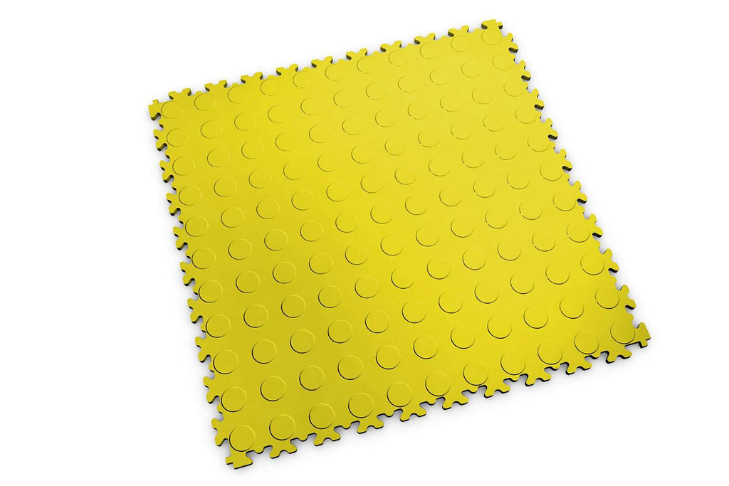 "DALLE PVC ""INDUSTRY"" BULLE JAUNE - PROMO-SOLS"