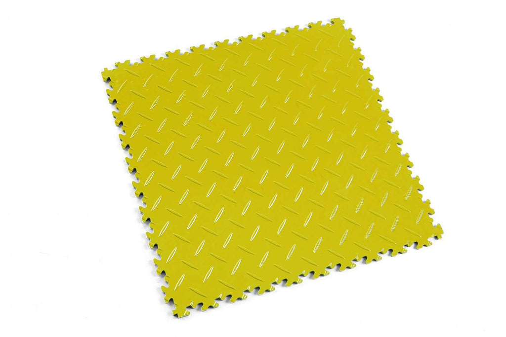 "DALLE PVC ""LIGHT"" DIAMANT JAUNE - PROMO-SOLS"