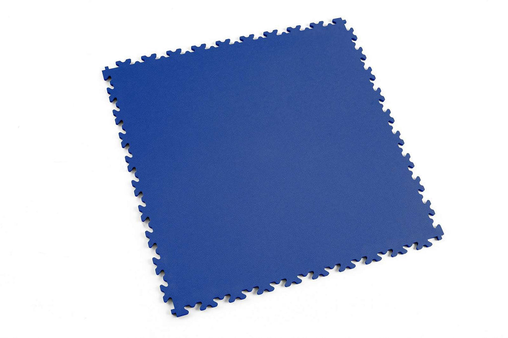 "DALLE PVC ""LIGHT"" CUIR BLEU - PROMO-SOLS"