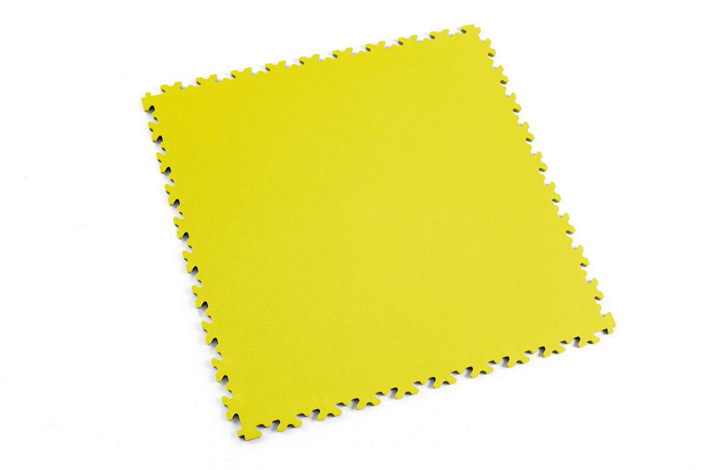 "DALLE PVC ""LIGHT"" CUIR JAUNE - PROMO-SOLS"