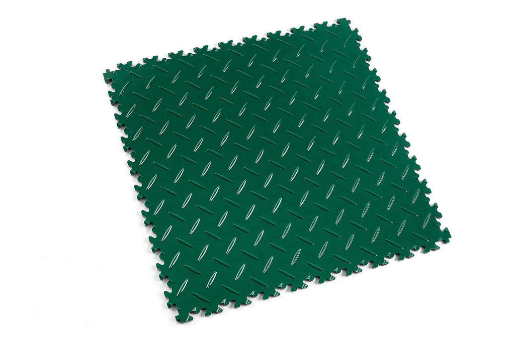 "DALLE PVC ""LIGHT"" DIAMANT VERT - PROMO-SOLS"