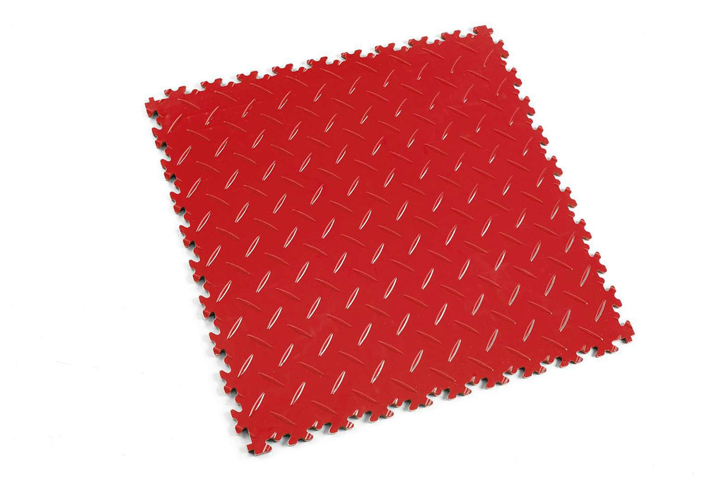 "DALLE PVC ""LIGHT"" DIAMANT ROUGE - PROMO-SOLS"
